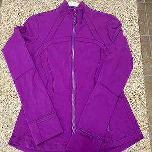 Lululemon Define Jacket Purple Size 10 GUC